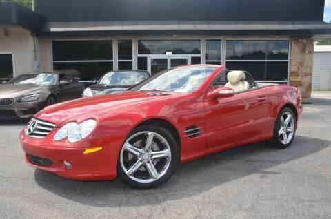 2005 Mercedes-Benz SL-Class for sale at Amyn Motors Inc. in Tucker GA