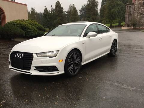 2016 Audi A7 for sale at First Union Auto in Seattle WA
