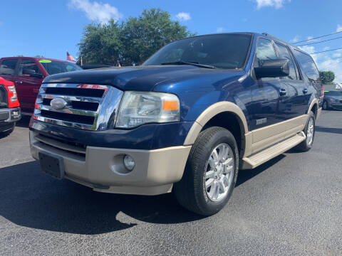 2007 Ford Expedition EL for sale at Bargain Auto Sales in West Palm Beach FL
