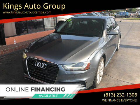 2014 Audi A4 for sale at Kings Auto Group in Tampa FL