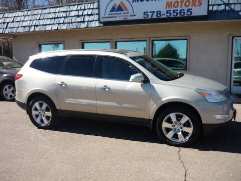 2011 Chevrolet Traverse for sale at Mountain View Motors Inc in Colorado Springs CO