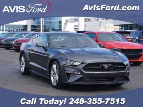 2018 Ford Mustang for sale at Work With Me Dave in Southfield MI