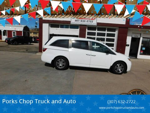 2011 Honda Odyssey for sale at Porks Chop Truck and Auto in Cheyenne WY