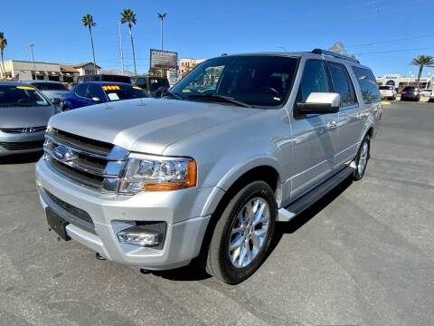 2017 Ford Expedition EL for sale at Charlie Cheap Car in Las Vegas NV