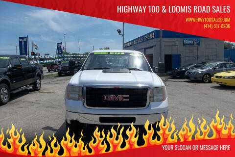2013 GMC Sierra 2500HD for sale at Highway 100 & Loomis Road Sales in Franklin WI