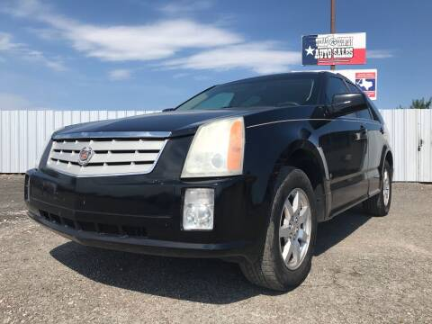 2008 Cadillac SRX for sale at Texas Country Auto Sales LLC in Austin TX