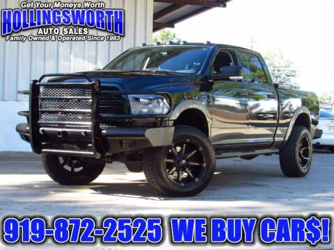 2011 RAM Ram Pickup 2500 for sale at Hollingsworth Auto Sales in Raleigh NC