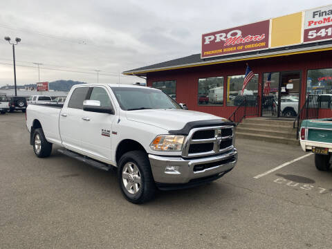 2013 RAM Ram Pickup 3500 for sale at Pro Motors in Roseburg OR