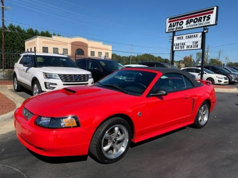2004 Ford Mustang for sale at Auto Sports in Hickory NC