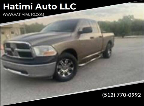 2010 Dodge Ram Pickup 1500 for sale at Hatimi Auto LLC in Buda TX