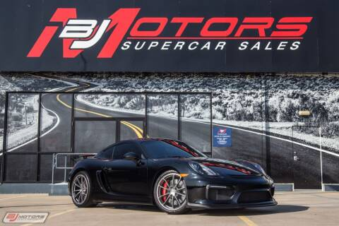 2016 Porsche Cayman for sale at BJ Motors in Tomball TX