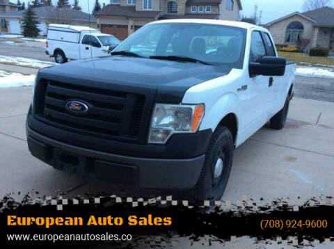 2011 Ford F-150 for sale at European Auto Sales in Bridgeview IL