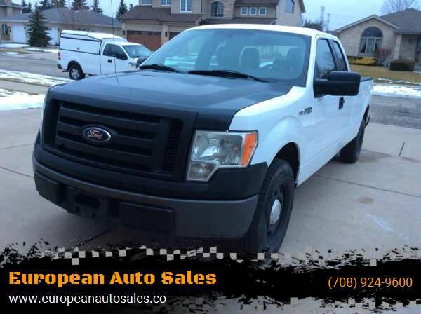 2011 Ford F-150 for sale at European Auto Sales in Bridgeview IL