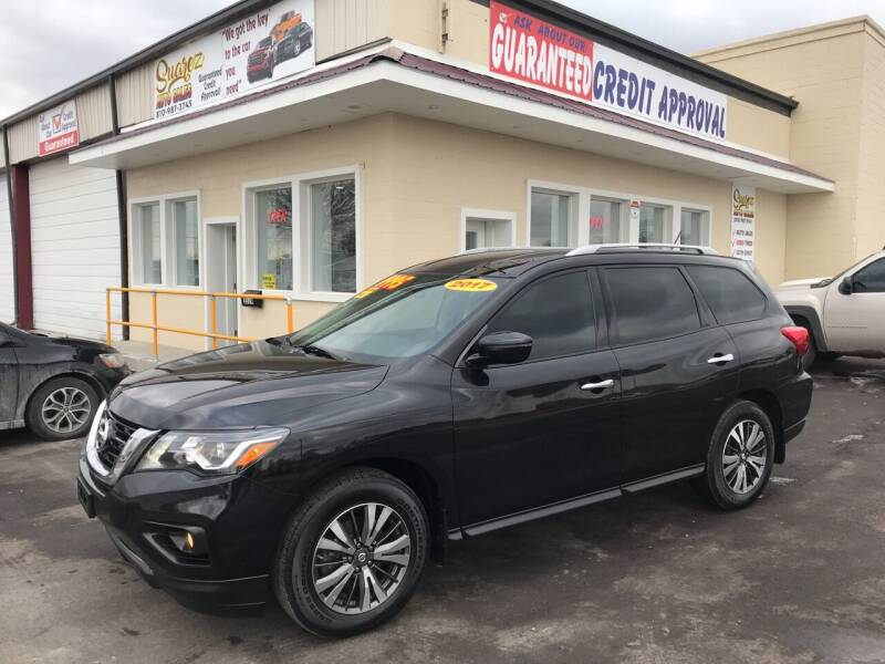 2017 Nissan Pathfinder for sale at Suarez Auto Sales in Port Huron MI