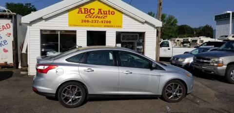 2013 Ford Focus for sale at ABC AUTO CLINIC in Chubbuck ID