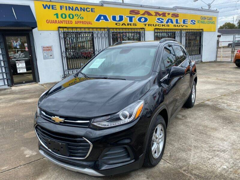 2018 Chevrolet Trax for sale at Sam's Auto Sales in Houston TX