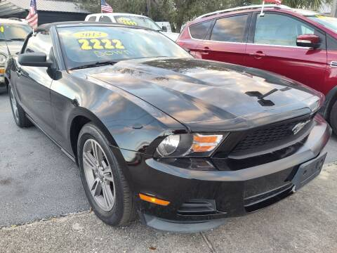 2012 Ford Mustang for sale at Celebrity Auto Sales in Port Saint Lucie FL