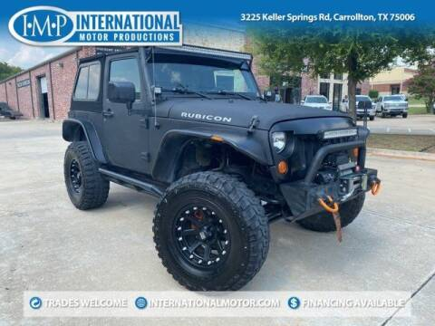 2007 Jeep Wrangler for sale at International Motor Productions in Carrollton TX