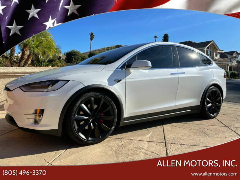 2020 Tesla Model X for sale at Allen Motors, Inc. in Thousand Oaks CA