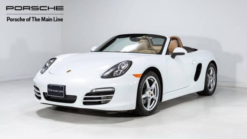 2013 Porsche Boxster for sale in Newtown Square, PA
