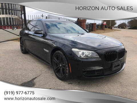 2011 BMW 7 Series for sale at Horizon Auto Sales in Raleigh NC
