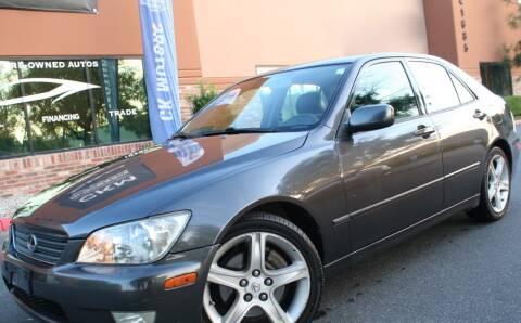 2001 Lexus IS 300 for sale at CK Motors in Murrieta CA