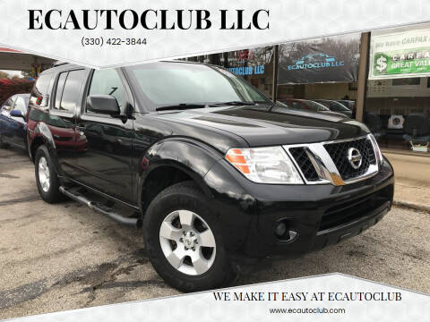 2008 Nissan Pathfinder for sale at ECAUTOCLUB LLC in Kent OH
