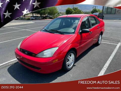 2004 Ford Focus for sale at Freedom Auto Sales in Albuquerque NM
