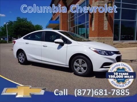 2018 Chevrolet Cruze for sale at COLUMBIA CHEVROLET in Cincinnati OH