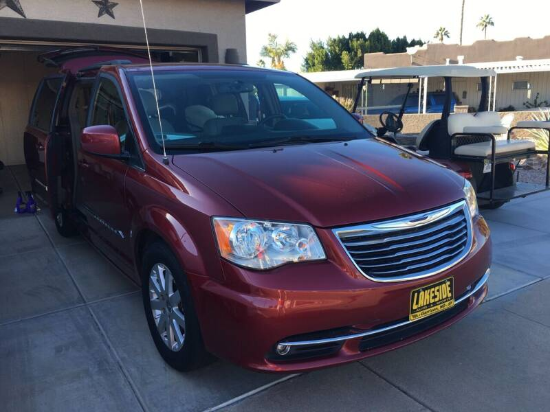 2016 Chrysler Town and Country for sale at Lakeside Auto & Sports in Garrison ND