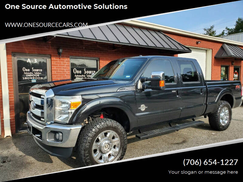 2014 Ford F-250 Super Duty for sale at One Source Automotive Solutions in Braselton GA