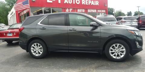 2018 Chevrolet Equinox for sale at L&T Auto Sales in Three Rivers MI