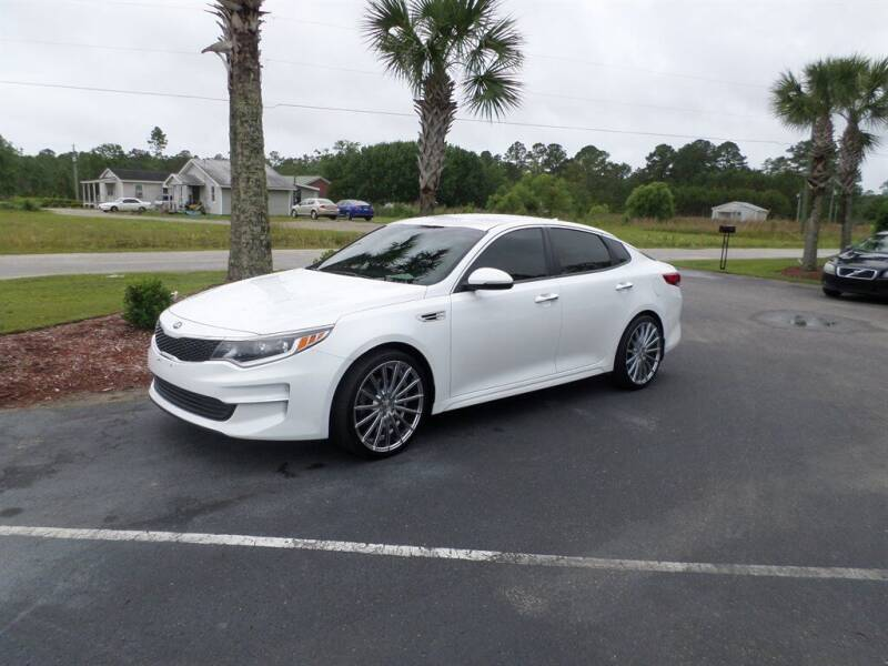 2018 Kia Optima for sale at First Choice Auto Inc in Little River SC