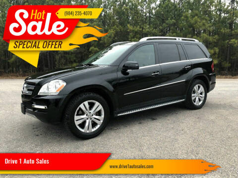 2012 Mercedes-Benz GL-Class for sale at Drive 1 Auto Sales in Wake Forest NC