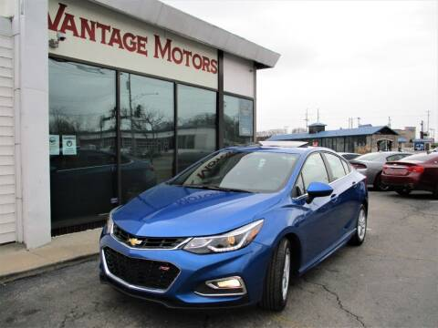 2016 Chevrolet Cruze for sale at Vantage Motors LLC in Raytown MO