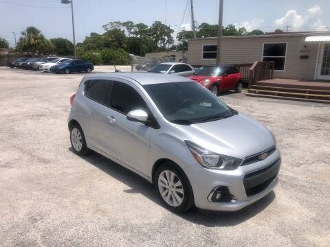 2016 Chevrolet Spark for sale at Friendly Finance Auto Sales in Port Richey FL