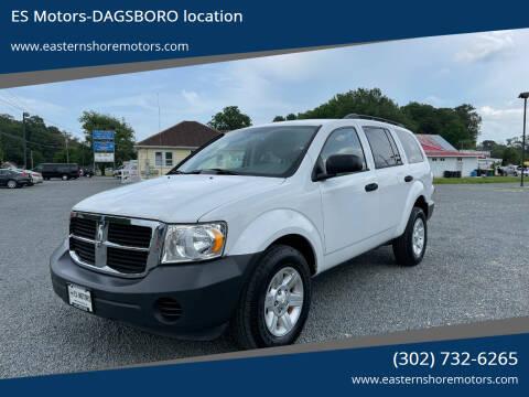 2008 Dodge Durango for sale at ES Motors-DAGSBORO location in Dagsboro DE