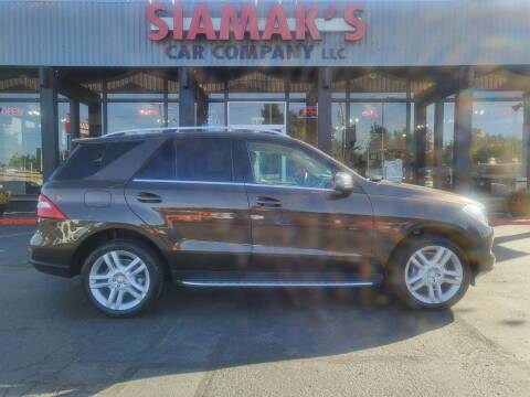 2015 Mercedes-Benz M-Class for sale at Siamak's Car Company llc in Salem OR