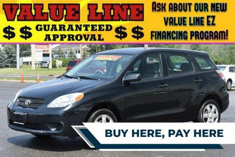 2006 Toyota Matrix for sale at Broadway Garage of Columbia County Inc. in Hudson NY