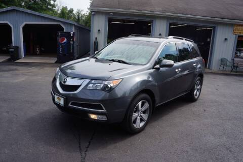 2012 Acura MDX for sale at Autos By Joseph Inc in Highland NY