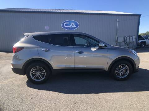 2017 Hyundai Santa Fe Sport for sale at Team Hall at City Auto in Murfreesboro TN