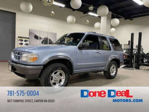 1998 Ford Explorer for sale at DONE DEAL MOTORS in Canton MA