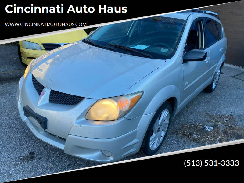 2003 Pontiac Vibe for sale at Cincinnati Auto Haus in Cincinnati OH