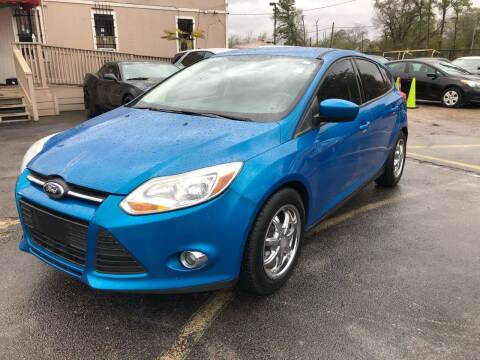 2012 Ford Focus for sale at Saipan Auto Sales in Houston TX