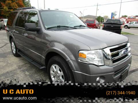 2010 Ford Expedition for sale at U C AUTO in Urbana IL