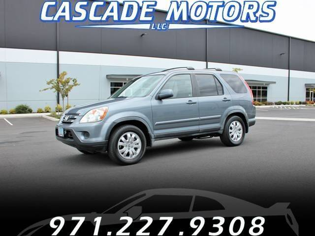 2006 Honda CR-V for sale at Cascade Motors in Portland OR