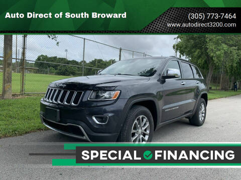 2014 Jeep Grand Cherokee for sale at Auto Direct of South Broward in Miramar FL