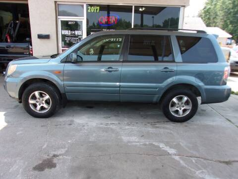 2008 Honda Pilot for sale at World Wide Automotive in Sioux Falls SD