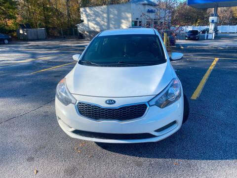 2016 Kia Forte for sale at BRAVA AUTO BROKERS LLC in Clarkston GA