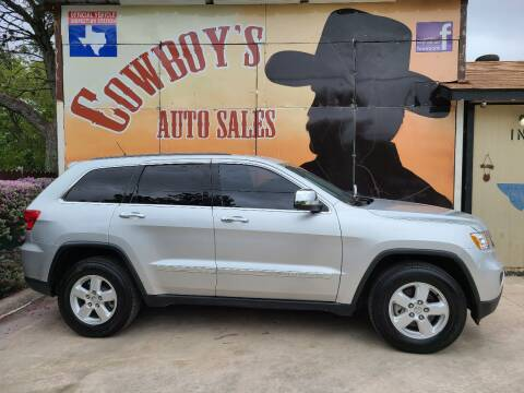 2013 Jeep Grand Cherokee for sale at Cowboy's Auto Sales in San Antonio TX